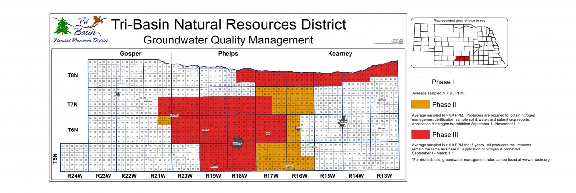 Tri-Basin Groundwater Quality Areas