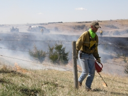 Prescribed Fire Igniting